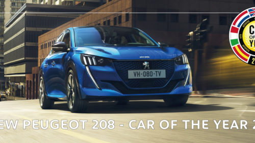 NEW Peugeot 208 - CAR OF THE YEAR!