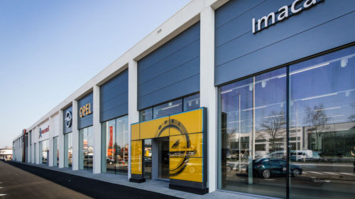 Imacar Sint-Niklaas Showroom Opel 2
