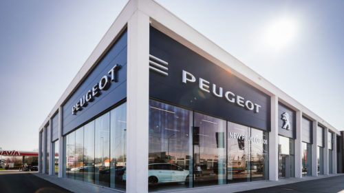 Imacar Sint-Niklaas Showroom Peugeot