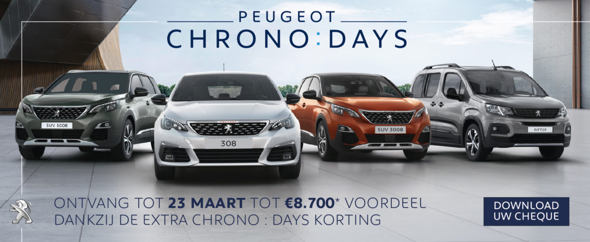 PEUGEOT CHRONO : DAYS